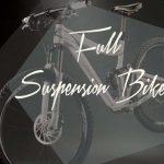 full suspension mountain bike white