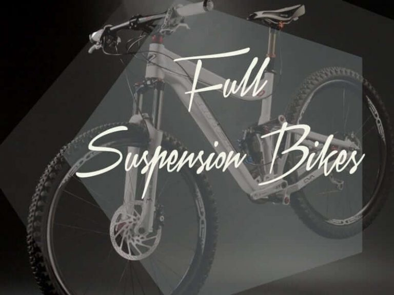full suspension mountain bike white