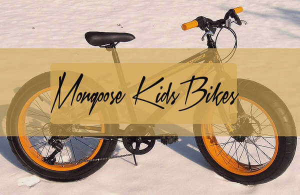mongoose bikes for kids