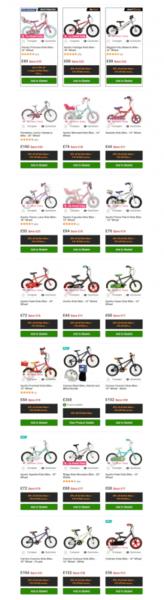 kids bikes black friday