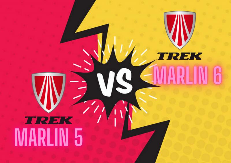 Trek Marlin 5 vs 6